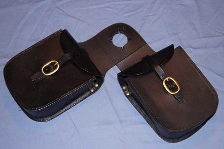Satteltasche für Horn